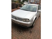 Golf GTI 1.6 buy to repair or for parts. Sony Digital Radio included.