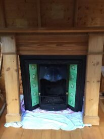 Complete Antique Fireplace for Sale