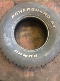255/75r15 tyre