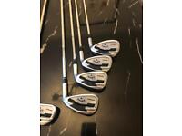 Callaway Apex forged irons 4-AW Stiff shafts