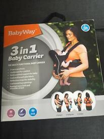 Baby Way 3 in 1 Baby Carrier