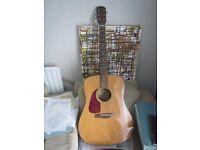 Left handed Acoustic Fender guitar for sale
