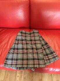 Mangotsfield school skirt, one brand new one as new both size 28ich by 22inch.
