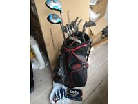 Golf clubs, bag and balls (+trolley) £100 ono