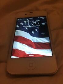 iPhone 4 White 16GB Unlocked