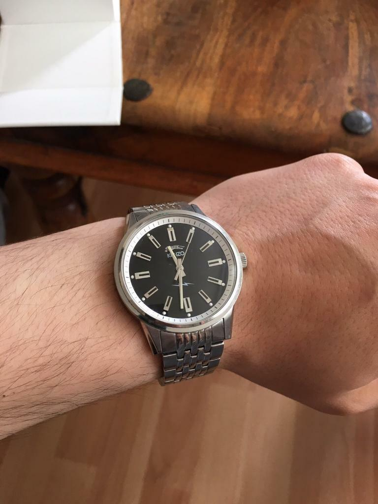 Men's genuine Kenzo watch