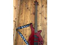 SX bass guitar