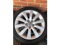 AUDI A1 SPORT ALLOYS WHEELS AND TYRES