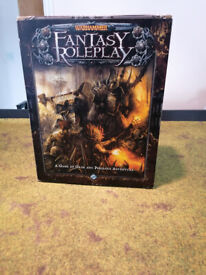 Warhammer Fantasy Roleplay 3rd Edition Core Set (Brand new, never been used)