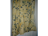 CURTAINS Vintage look - yelllow