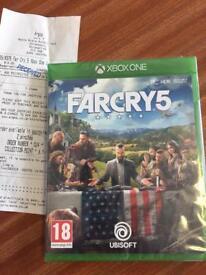 Far cry 5 Xbox 1 game