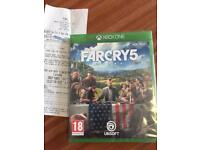 Far cry 5 Xbox 1 game
