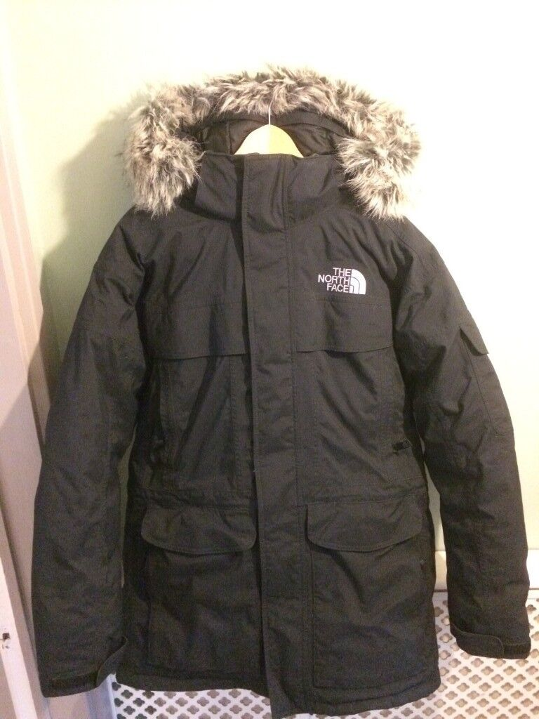 The North Face Mens McMurdo Parka Black Size: Medium | in ...