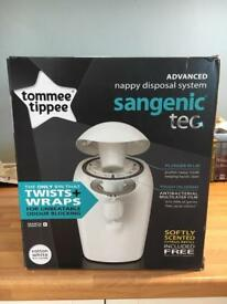 Tommee Tippee Sangenic Tec Nappy Disposal Tub, BRAND NEW