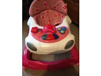 Baby walker & baby lights & sound playgym