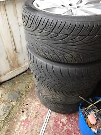 Landrover discover 3/4 20 inch wheels and tyre