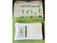 Wii Console Complete + Wii Fit Plus + Balance Board