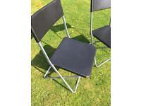 Pair of Foldaway Chairs