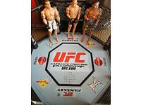 UFC Electronic reaction octagon with 3 fighters