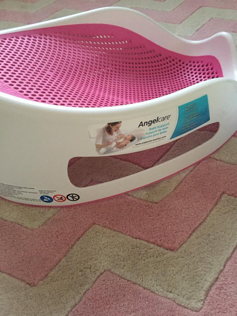 Angel care bath seat