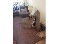 TWO CHAIR BEDS