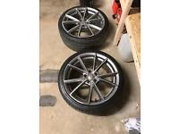 "New 19"" Audi alloys ... RS6c Skoda , Volkswagen 5x112"
