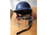 Slazenger boys cricket helmet