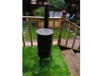 Vintage cast iron shed/patio burner