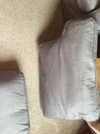 Good Condition IKEA EKTORP 2 seater sofa grey
