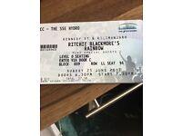 Concert tickets Ritchie blackmores rainbow secc hydro sun 25 June
