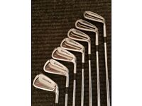*** REDUCED TO SELL *** Taylor Made Tour Preferred CB 2014 Golf Irons 4 - AW