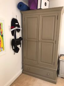 Double wardrobe - with large bottom drawer -