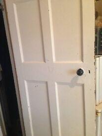 4 x Internal Doors with original door knobs and locks (not including keys)