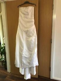 Wedding Dress White Size 10-12