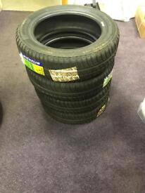 4 new Michelin tyres 145 60 13