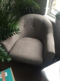 Madedotcom Lottie chair