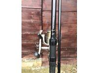 Carp fishing rods