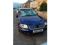 Vw Passat highline 1.9tdi 2004 for parts fsh 130k. Heated leather