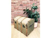 Vintage Steamer Trunk / chest / NOW SOLD