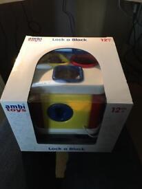 Baby lock box toy