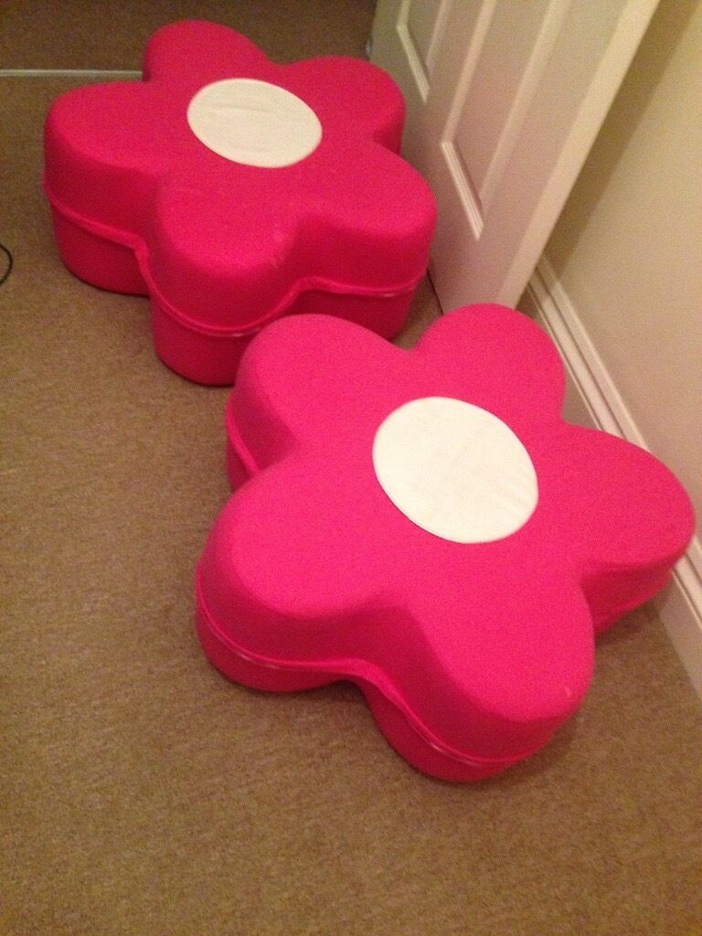 Pink Floor cushions For Lil Girls
