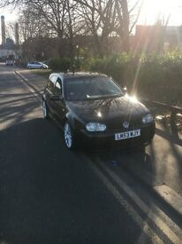 Mk4 Golf Gt tdi r32 rep, heated leathers, Tv, DVD player