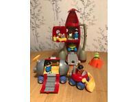 Happyland Space Rocket Play Set Bundle