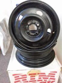 4x Renault laguna 15 inch wheel drums mark 1,