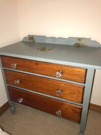Duck egg Chest of Drawers