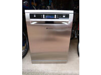 Hotpoint Ultima Dishwasher in Stainless Steel