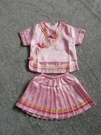 girls pink outfit age 2