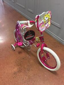 """16"""" Barbie Girl's Bike by Dynacraft- New/ Boxed! Ages 4-8"""