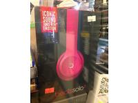 Beat solo 2 pink with receipt . Genuine