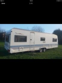 Looking for a 5 berth hobby caravan project